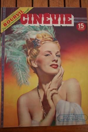 1948 Siri Ann Blyth Paul Meurisse Gene Tierney