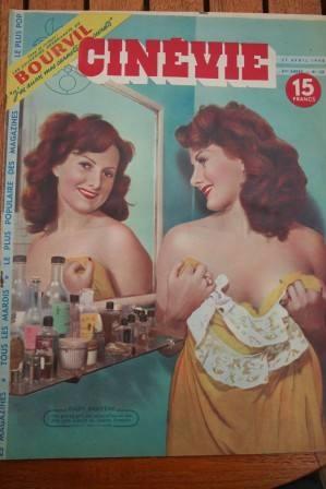 1948 Gaby Bruyere Denise Darcel Loretta Young