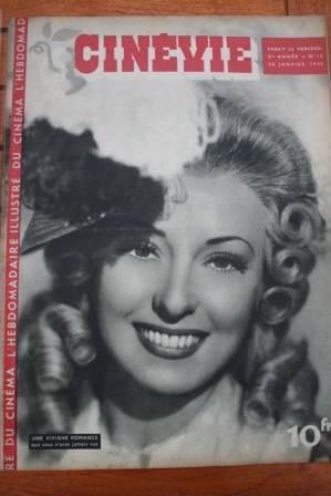 1946 Viviane Romance Simone Simon Candy Jones Bob Baker