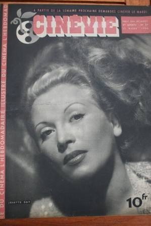 1946 Josette Day Wizard Of Oz Judy Garland Jeanne Crain