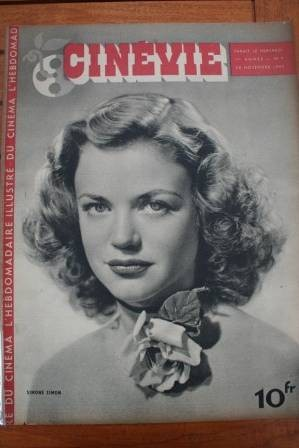 1945 Simone Simon Katharine Hepburn Spencer Tracy