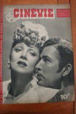 1945 Marlene Dietrich Bruce Cabot Michele Morgan