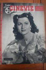 1945 Magazine Margaret Lockwood Vivian Blaine