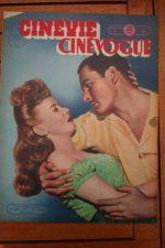 1948 Mag Errol Flynn Ida Lupino Jean Marais Janet Blair