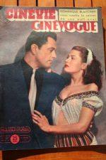 1948 Original Magazine Yvonne De Carlo Tony Martin