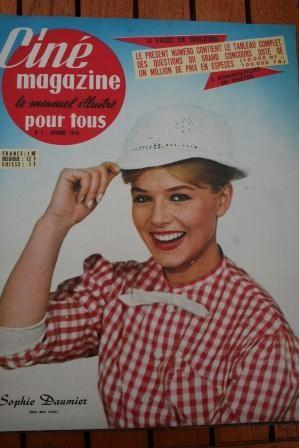 1960 Catherine Deneuve Francoise Dorleac Jeff Chandler