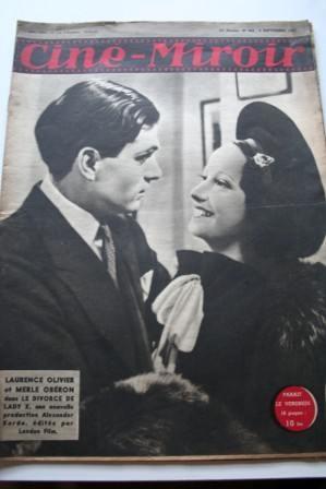 1946 Merle Oberon Laurence Olivier Jean Marais F Rosay