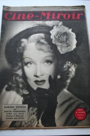 1946 Marlene Dietrich Bing Crosby Merle Oberon Cannes