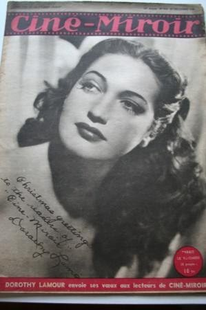 1946 Dorothy Lamour Charles Boyer Ingrid Bergman Alda