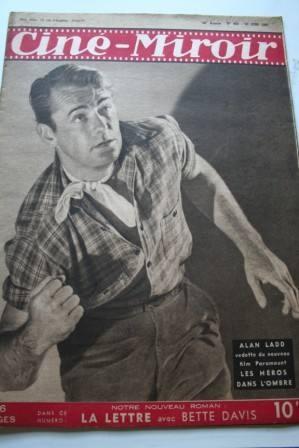 1947 Alan Ladd Rex Harrison Jean Kent Bette Davis