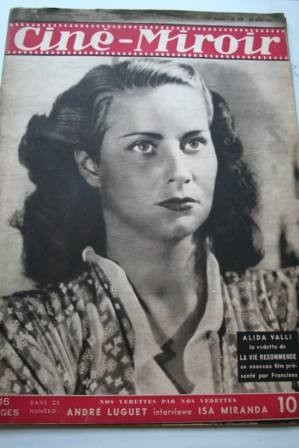 1947 Alida Valli Jennifer Jones Linda Darnell Chevalier