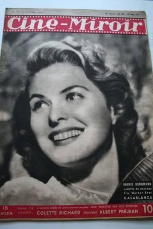 47 Ingrid Bergman Casablanca Irene Dunne Charles Boyer