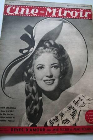 1947 Linda Darnell Errol Flynn Sea Hawk Gil Roland