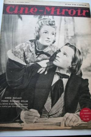 1947 Annie Ducaux Ann Miller Spencer Tracy Hedy Lamarr