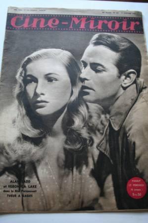 1947 Veronica Lake Alan Ladd Ingrid Bergman Gary Cooper