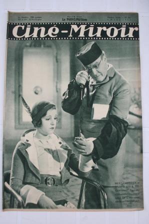 Original 32 Meg Lemmonier Charles Boyer Ivan Mosjoukine