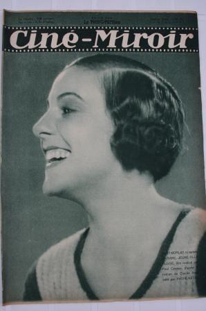 Original 1932 Gaby Morlay Bach L'Affaire Blaireau