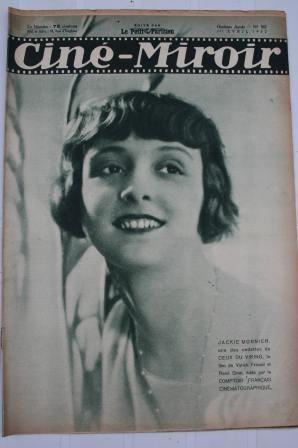 1932 Jackie Monnier Greta Garbo Sylvia Sidney Chaplin