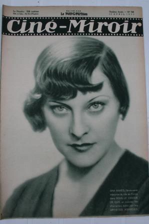 Original 1932 Gina Manes Laurel & Hardy Wallace Beery