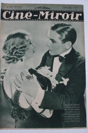 Original 1932 Madeleine Renaud Mosjoukine Grace Moore