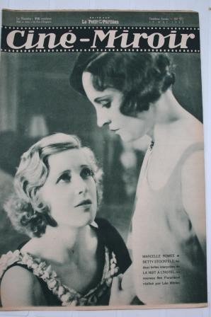 Original 1932 Betty Stockfeld Florelle Lupe Velez Ondra