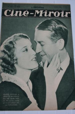 Original 1932 Jeanette Mac Donald Maurice Chevalier
