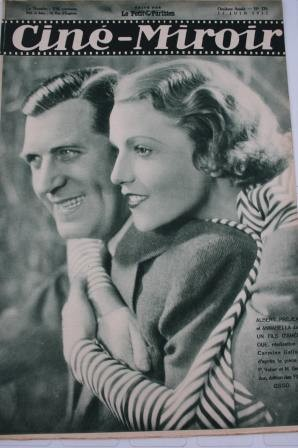 Original 1932 Annabella Buster Keaton Richard Dix Vanel