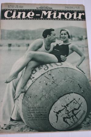 1932 Roland Toutain Norma Shearer Nancy Carroll Raimu