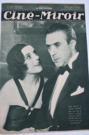 Original 1932 George Bancroft Miriam Hopkins Fay Wray