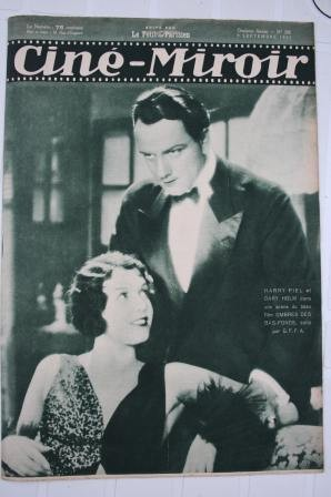 Orig. 1932 Harry Piel Dary Holm Lilian Gish Clark Gable