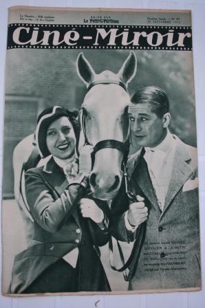 1932 Jeanette Mac Donald Fernandel Raimu Jean Gabin