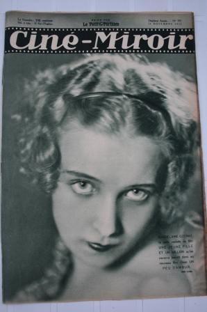 Original 1932 Madeleine Ozeray Greta Garbo Harold Lloyd