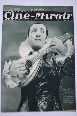 Orig 1932 Jules Berry Buster Keaton Greta Garbo Arletty