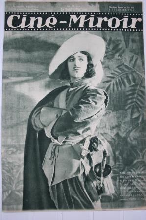 Orig 1932 Aime Simon Gerard Three Musketeers Florelle