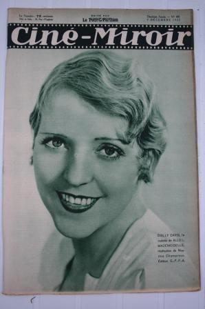 Original 1932 Dolly Davis Three Musketeers Jean Servais