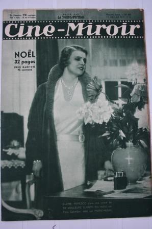 Orig 1932 Elvire Popesco Marlene Dietrich Rouletabille