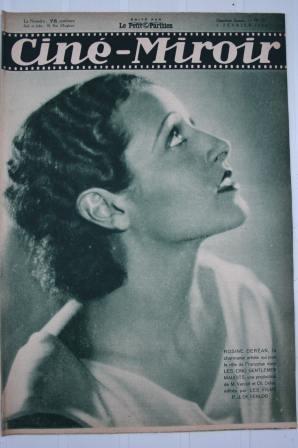 1932 Rosine Derean Charles Chaplin Marlene Dietrich