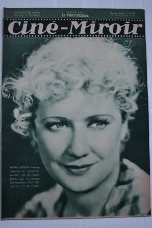 Original 1932 Miriam Hopkins Raimu Harry Baur