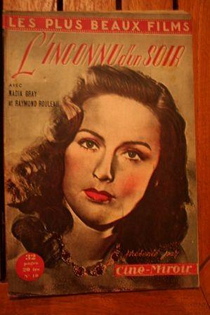 1949 Nadia Gray Raymond Rouleau Claude Dauphin