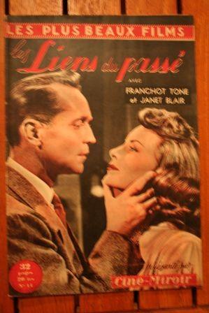 Franchot Tone Janet Blair Adele Jergens Ingrid Bergman