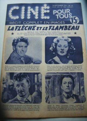 51 Burt Lancaster Virginia Mayo The Flame And The Arrow