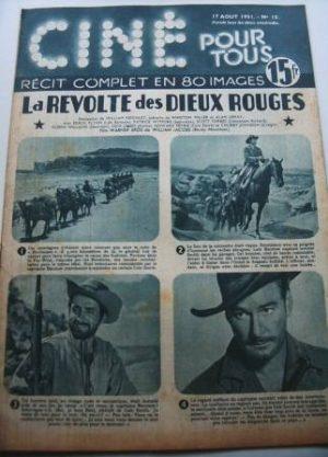 1951 Errol Flynn Patrica Wymore Rocky Mountain