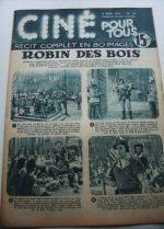 Original Robin Hood Mag Errol Flynn Olivia De Havilland