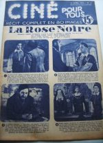 Original 1951 Tyrone Power Orson Welles The Black Rose