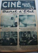 1951 Glynis Johns Douglas Fairbanks Jr State Secret