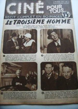 51 Orson Welles Alida Valli Joseph Cotten The Third Man