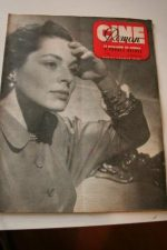 1949 Magazine Errol Flynn Viveca Lindfors Don Juan