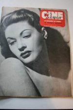 1949 Yvonne De Carlo Spencer Tracy Katharine Hepburn