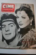 1950 Hedy Lamarr Victor Mature Samson & Dalilah