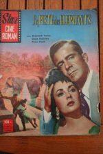 1958 Vintage Elizabeth Taylor Dana Andrews Peter Finch